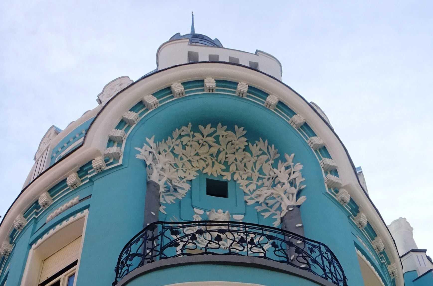art nouveau arhitectura