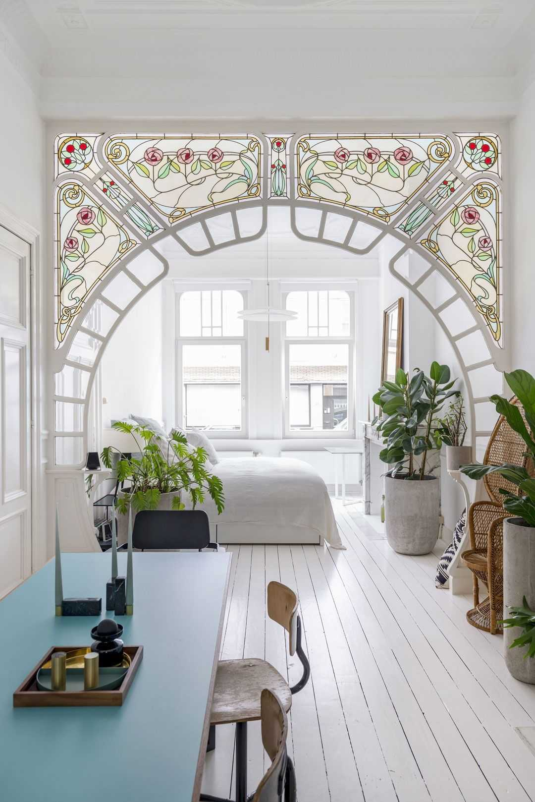 art nouveau design interior