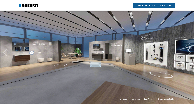 showroom virtual Geberit