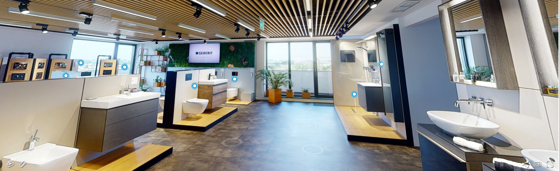 design interior baie Geberit